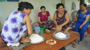 Hochzeitsvorbereitungen in Vietnam