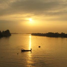 Cruisen auf dem Mekong
