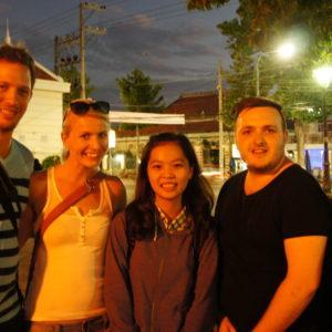 Chau Doc mit neuen Freunden