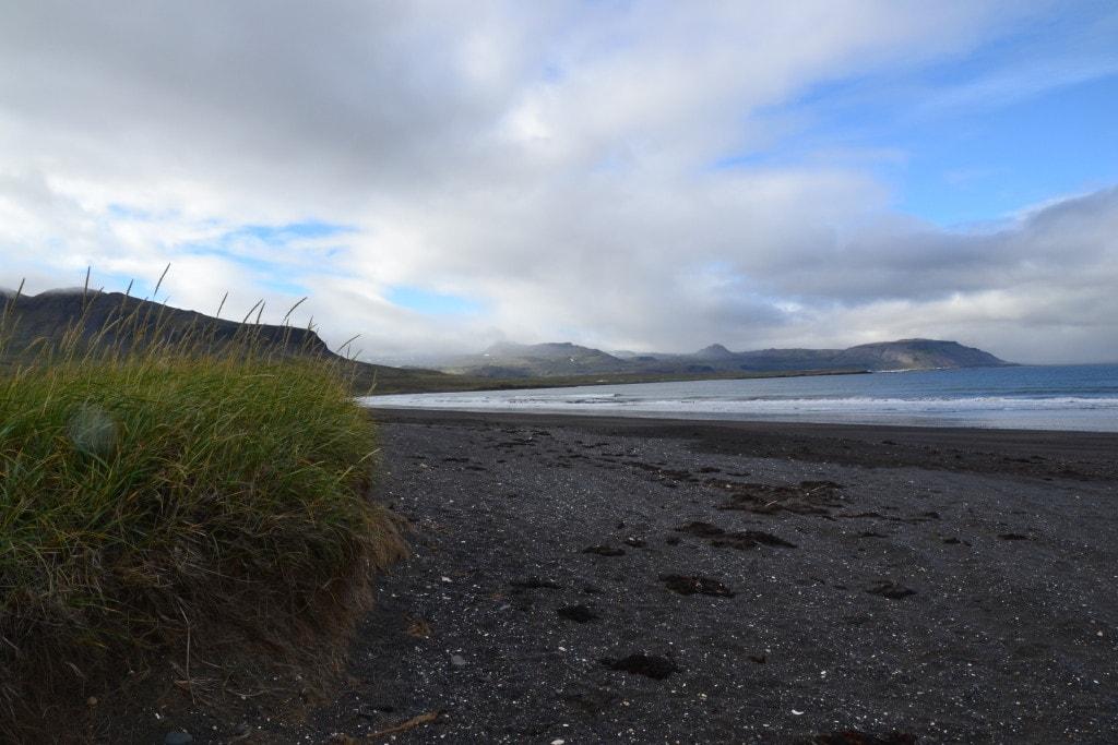 einsame Strände in Island