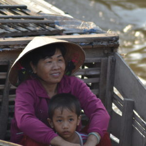 Besuch im vietnamesischen Dorf