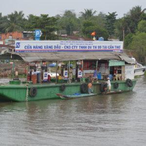 Tankstelle am Mekong