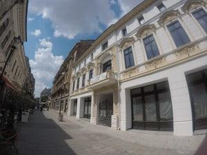 Bukarest Altstadt Flair