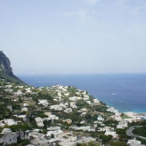 Blick aufs Meer von Capri
